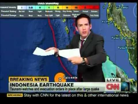 Indonesia Earthquake (11 April 2012) - Tsunami Warning.flv