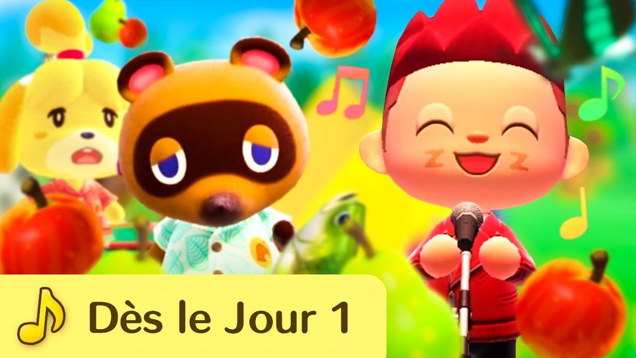Download Dès le Jour 1 ft. Kéké [Chanson Animal Crossing] - Parodie Louane