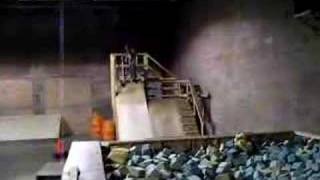 Falling Into a foam pit