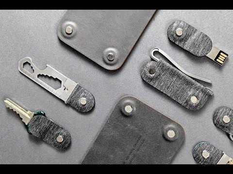 Maglock Powers This Modular Keys And Wallet Organizer