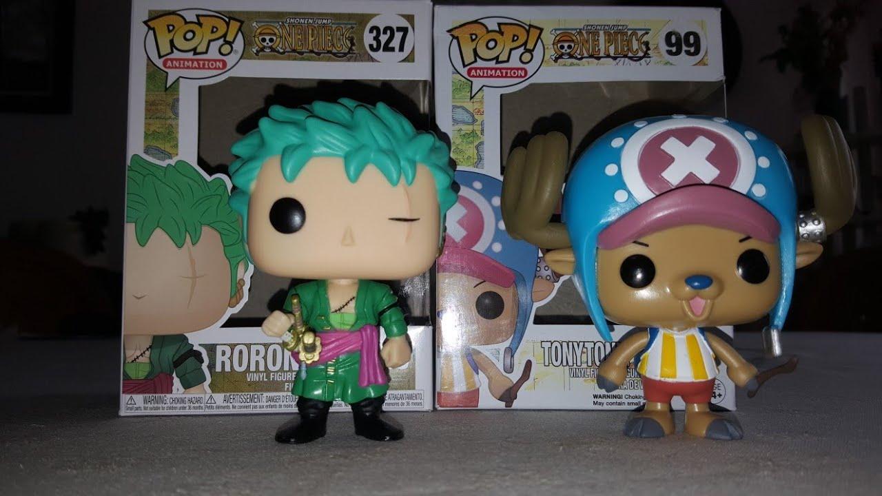 d38dd3aca9e Funko pop - One Piece - Roronoa Zoro   Tony Tony Chopper - YouTube