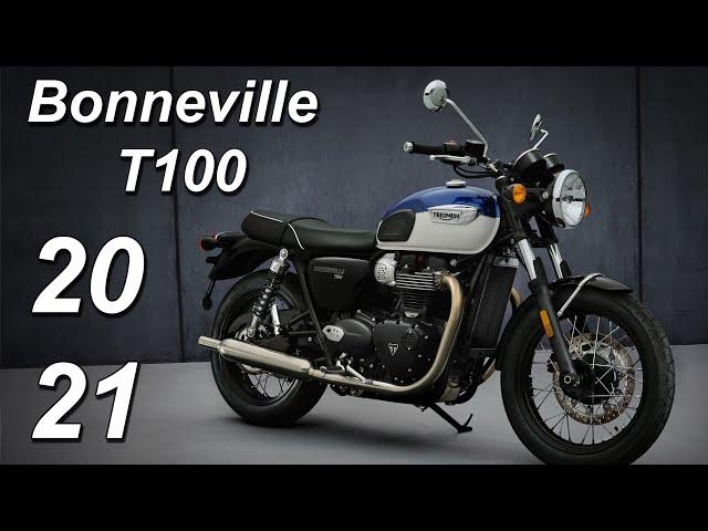 2021 Triumph Bonneville T100 #shorts