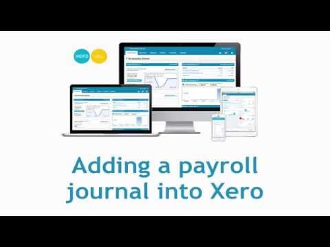 How to make a general journal entry in xero
