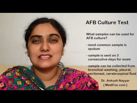 AFB (Acid-fast Bacteria) Culture Test - Diagnosing Mycobacterial Infection
