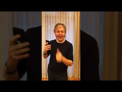Big 95 Morning Show - Paul McCartney accepts his own challenge and creates video