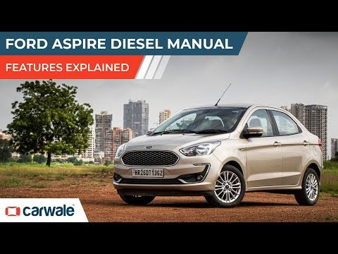 Ford Aspire | Features Explained | CarWale