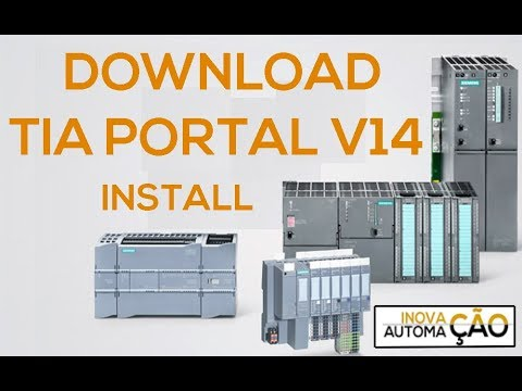 Download and Installing Siemens TIA Portal V14 for PLC