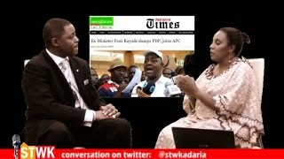 Going to APC was an error of judgement - Femi Fani-Kayode on Straight Talk with Kadaria 23a