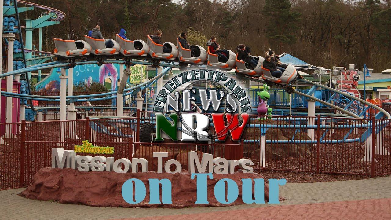 Movie Park 2015 - Backyardigans: Mission to Mars - Onride ...