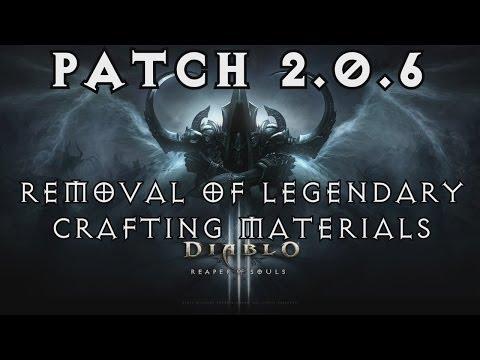 Diablo  Legendary Crafting Materials Xbox One