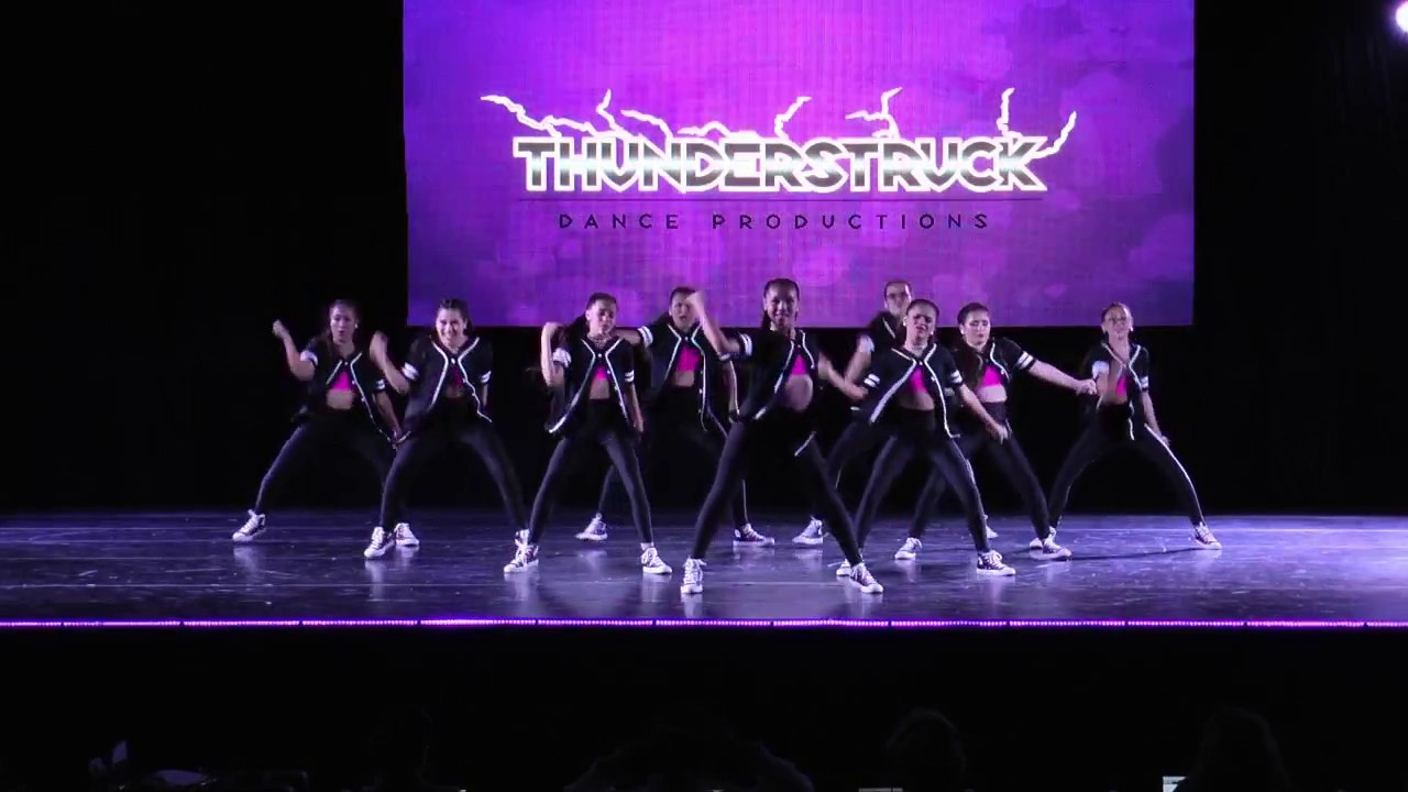 We Run This - Thunderstruck Dance Competition 2017 - YouTube
