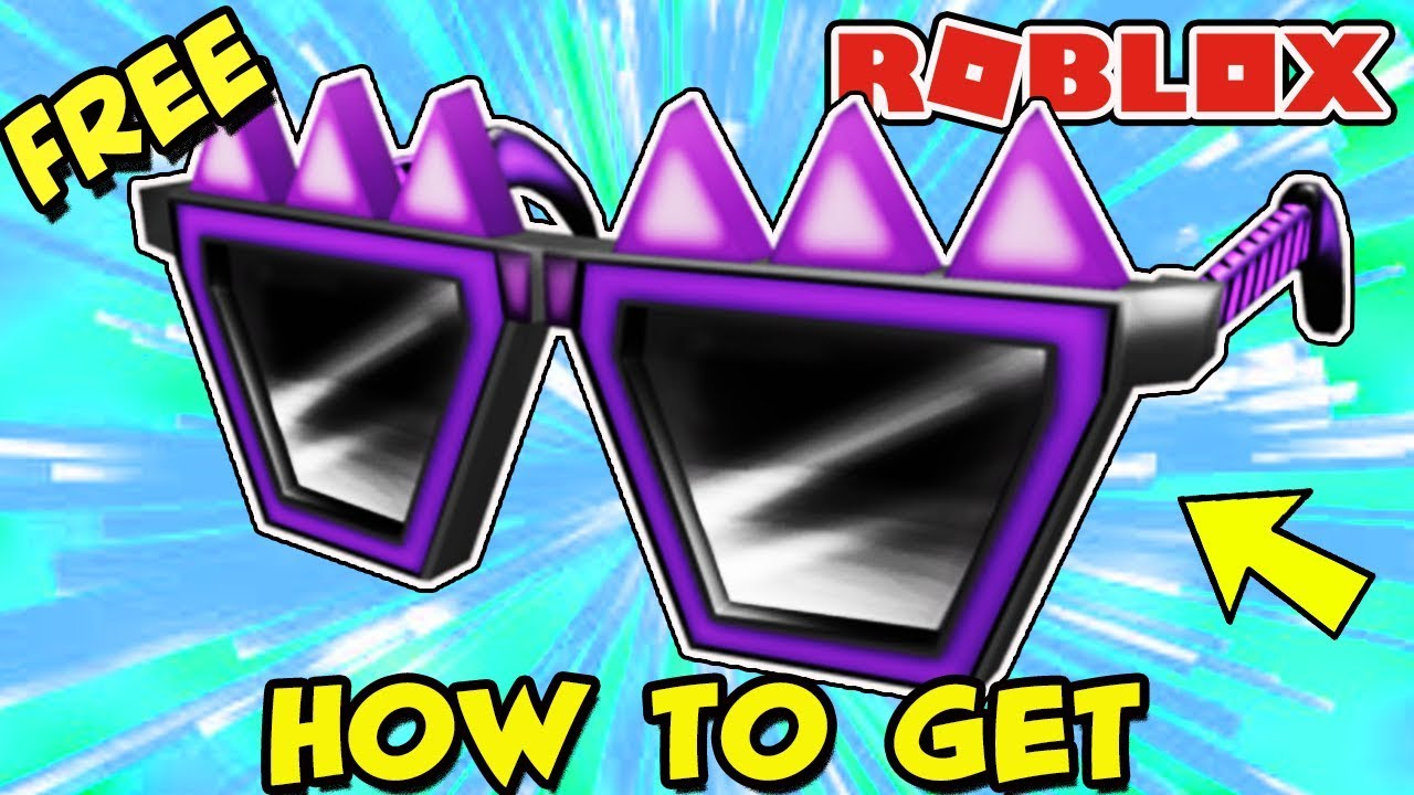 [PROMO CODE] HOW TO GET THE SPIKY CREEPY SHADES (Roblox) - Free Item!
