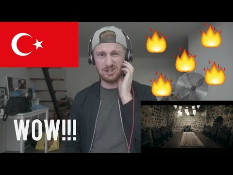 (WOW!!!) TURKISH RAP REACTION // Ceza - Türk Marşı (Turkish March)