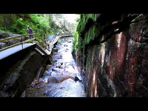 Flume Gorge New Hampshire State Park HD