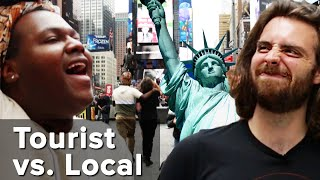 We Forced A Tourist And A Local To Go To Times Square: Tourist Vs. Local