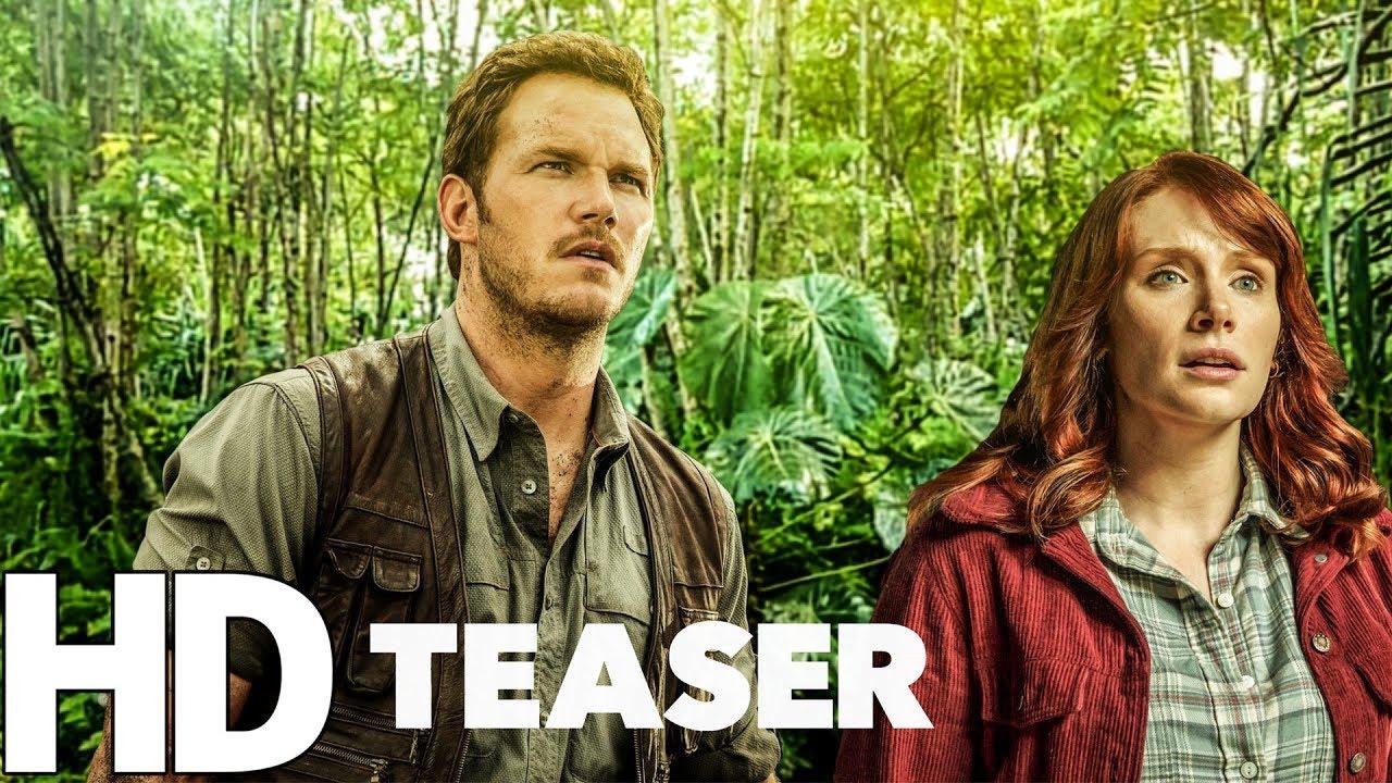 Jurassic World 2  Fallen Kingdom 2018 First Look Trailer.