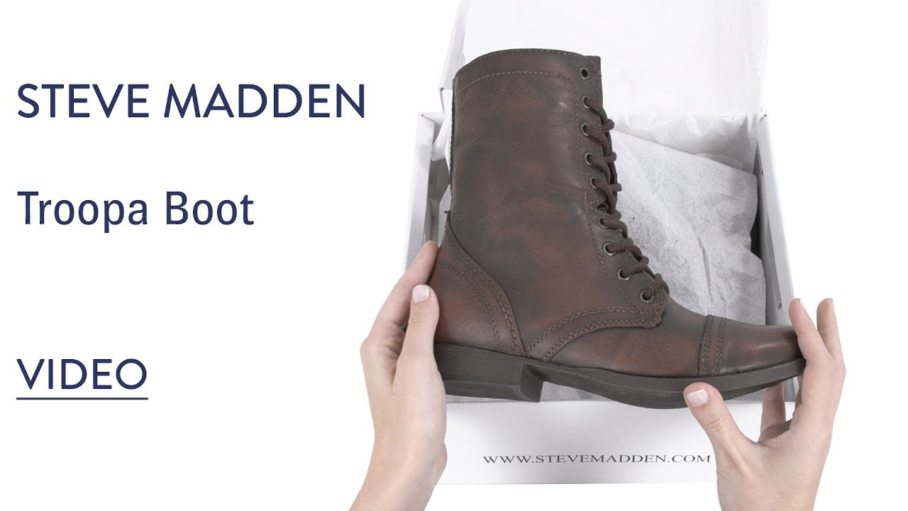 discount shop super cute many fashionable Womens Steve Madden Troopa Boot - FREE Shipping & ExchangesPlay ...