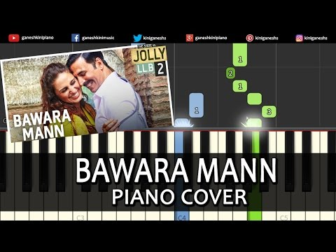 Piano piano chords instrumental : Bawara Mann Jolly LLB 2|Hindi Song|Piano Chords Tutorial Lesson ...