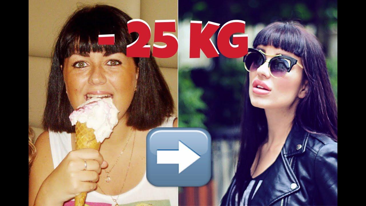 я похудела на 25 кг за месяц