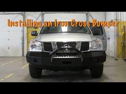 How To Install an Iron Cross Bumper on Nissan Titan Project
