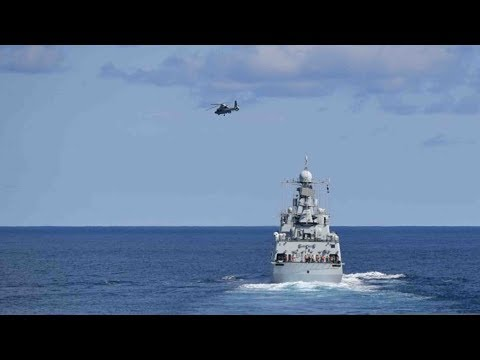 China, Russia start joint naval drills