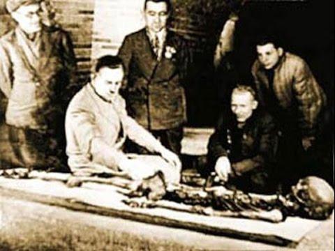 Странное Дело.Проклятие Тамерлана.Начало Второй Мировой через день после вскрытия гробницы