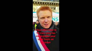 Adrien Quatennens soutient Saint-Denis en commun