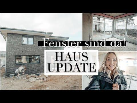 Haus Update I Die Fenster sind da! I Wow, sieht das toll aus! I #4Wände5Herzen
