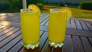 Домашний лимонад по очень простому рецепту!!! Освежающий напиток в летнюю жару. Homemade lemonade.