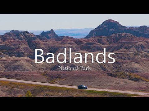 Badlands National Park Scenic Drive (g1w-c dash cam)