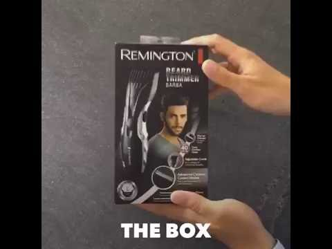 remington beard trimmer barba mb320c unboxing 2016. Black Bedroom Furniture Sets. Home Design Ideas