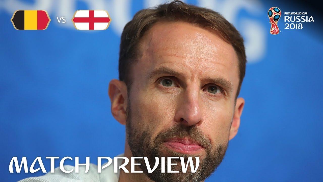 Gareth SOUTHGATE - Belgium v England Preview - 2018 FIFA World Cup™
