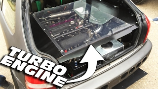 REAR MOTOR Turbo Honda Civic!?