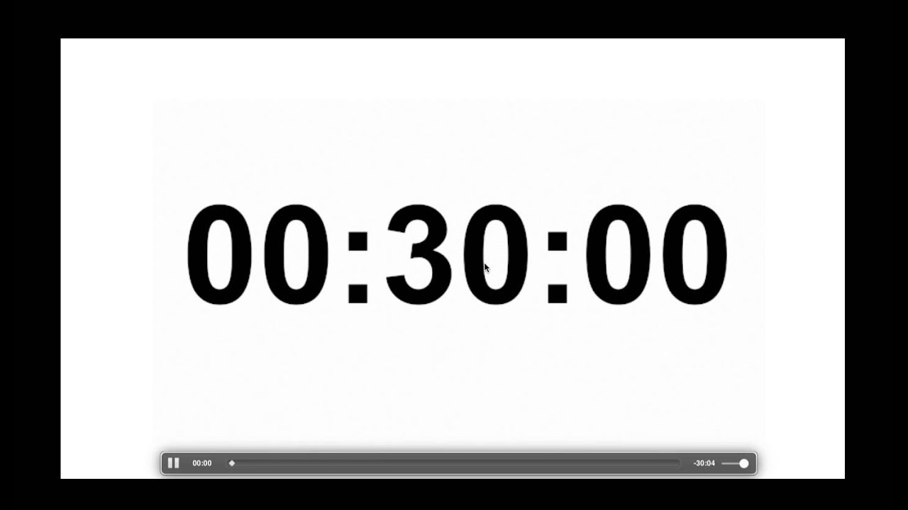 how to make a countdown timer in keynote youtube