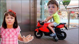 Mama NU poate CREDE   Bogdan si a cumparat o MOTOCICLETA adevarata   Sketch Bogdan Show