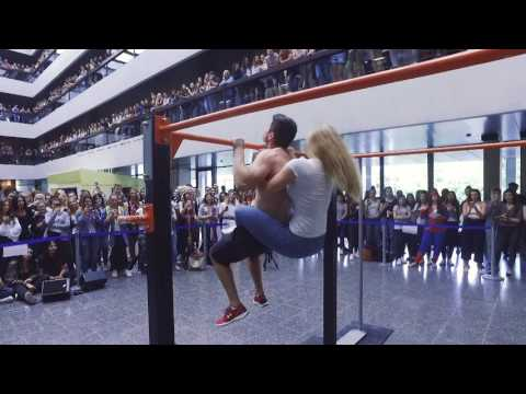 Street workout show at the KV Zürich Business School - Aftermovie Bardogs Zürich
