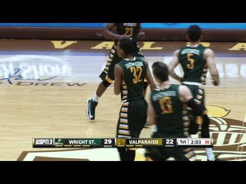 Wright State at Valparaiso: Horizon League Men's Basketball Highlights (Feb. 13, 2016)