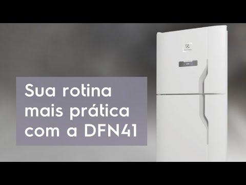 Sua rotina mais prática com a geladeira DFN41