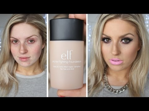 First Impression Review ♡ ELF Studio Acne Fighting Foundation ...