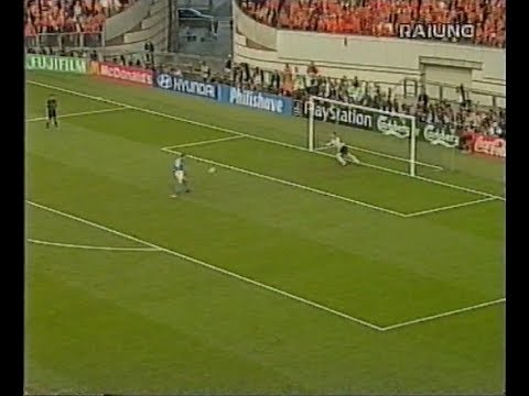 Francesco Totti il 'cucchiaio' in diretta, commento Pizzul