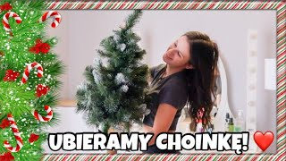 Świąteczny ROOM TOUR & ubieramy CHOINKĘ Vlogmas dzień 3