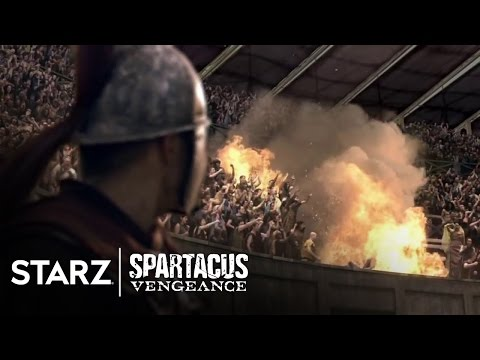 Spartacus: Vengeance | Episode 5 Clip: The Arena | STARZ