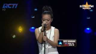 "Jessica Renita ""Whats Now"" Rihana - Rising Star Indonesia Final Duels 1 Eps. 13"