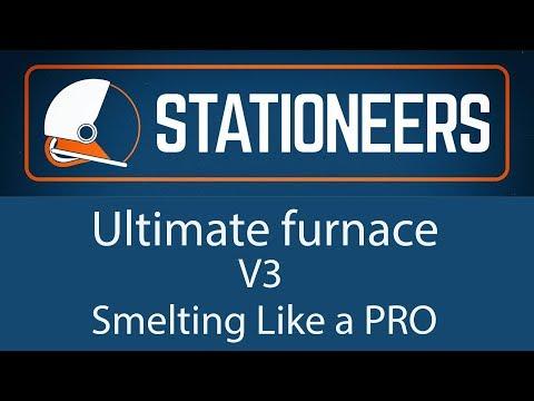 Stationeers - Ultimate Furnace V3 - Smelting Like a PRO
