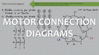Motor Connection Diagrams Full Lecture Youtube