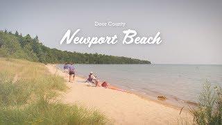 Newport Beach - Beaches of Door County, Wisconsin