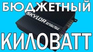 Одноканальный усилитель моноблок Skylor AQ 1 1000 v 2, распаковка, характеристики, обзор