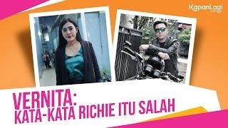 Disebut Pelarian Oleh Richie FM, Vernita Syabilla Tersudut