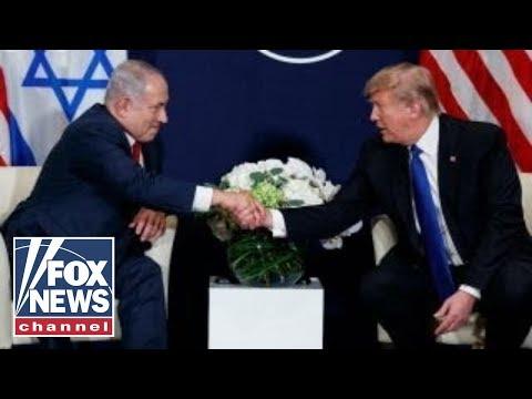 Iran, Mideast peace top key meeting between Trump, Netanyahu
