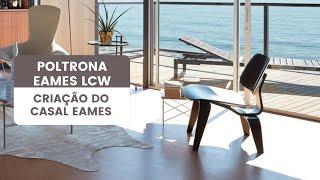 Poltrona Eames Lcw, Essência Móveis De Design